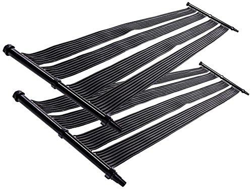 2x Nemaxx SH3000 Solarheater 3 m – Solar-Poolheizung, Solarheizung, Schwimmbecken Heizmatte, Swimmingpool Sonnenkollektor, Warmwasseraufbereitung, Heizung für Pool