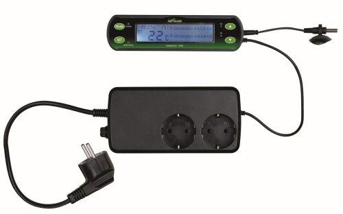 Trixie 76124 Thermostat, digital, zwei Schaltkreise, 16 x 4 cm