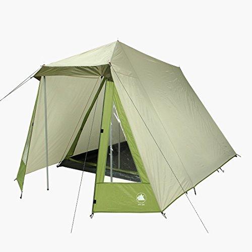 10T Kuranda 3 - 3 Personen Haus-Zelt mit Vorraum und Fenster, 3000mm