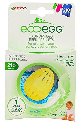 Ecoegg Nachfüll-Pellets, Fragrance Free, 210 Washes