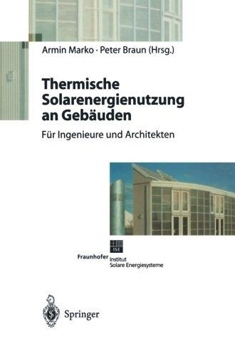 Thermische Solarenergienutzung an Gebäuden