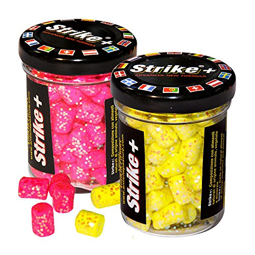 Sud-Est Appats Set, 2 Köder Pellets Strike mehrfarbig multi-coloured – Rose/Jaune
