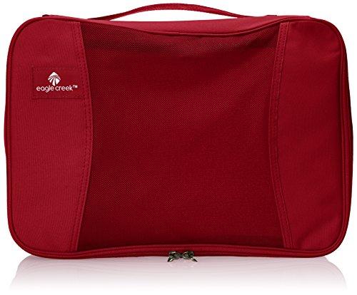Eagle Creek Packtasche Pack-It Original Quarter Cube – Übersicht beim Reisen durch Tasche in Tasche System, red fire, EC041197138, 10,5 L (36 cm)