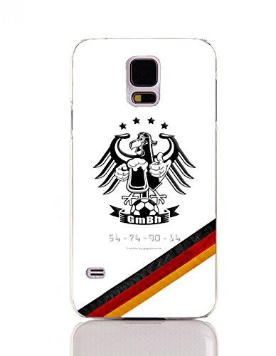 Mickie Krause 1123069 Hacke Adler 4 Sterne Deutschland Flagge Hülle für Samsung Galaxy S V