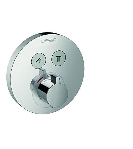 hansgrohe ShowerSelect S Unterputz Thermostat, 2 Verbraucher, chrom